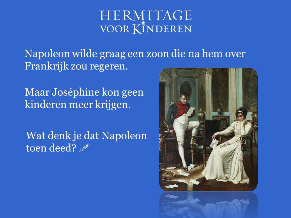 Napoleon wilde graag een zoon die na hem over Frankrijk zou regeren.