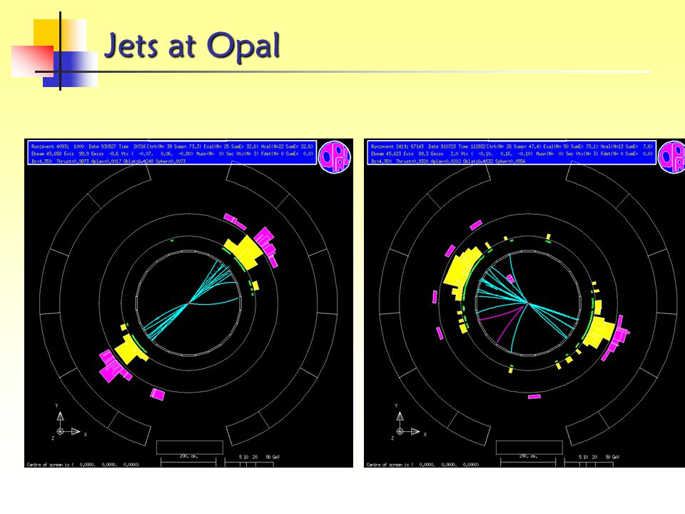 Jets at Opal