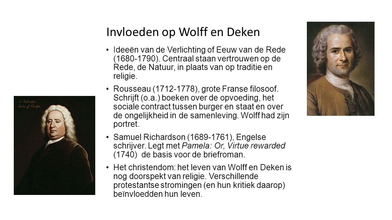 Invloeden op Wolff en Deken