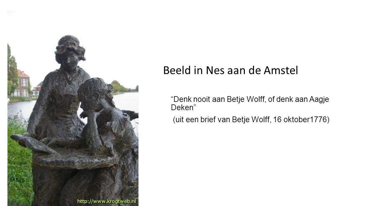 Beeld in Nes aan de Amstel