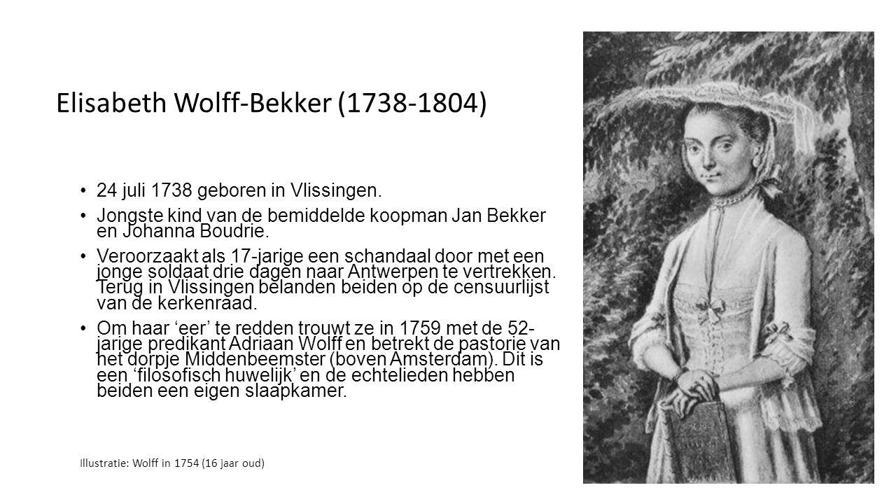 Elisabeth Wolff-Bekker (1738-1804)