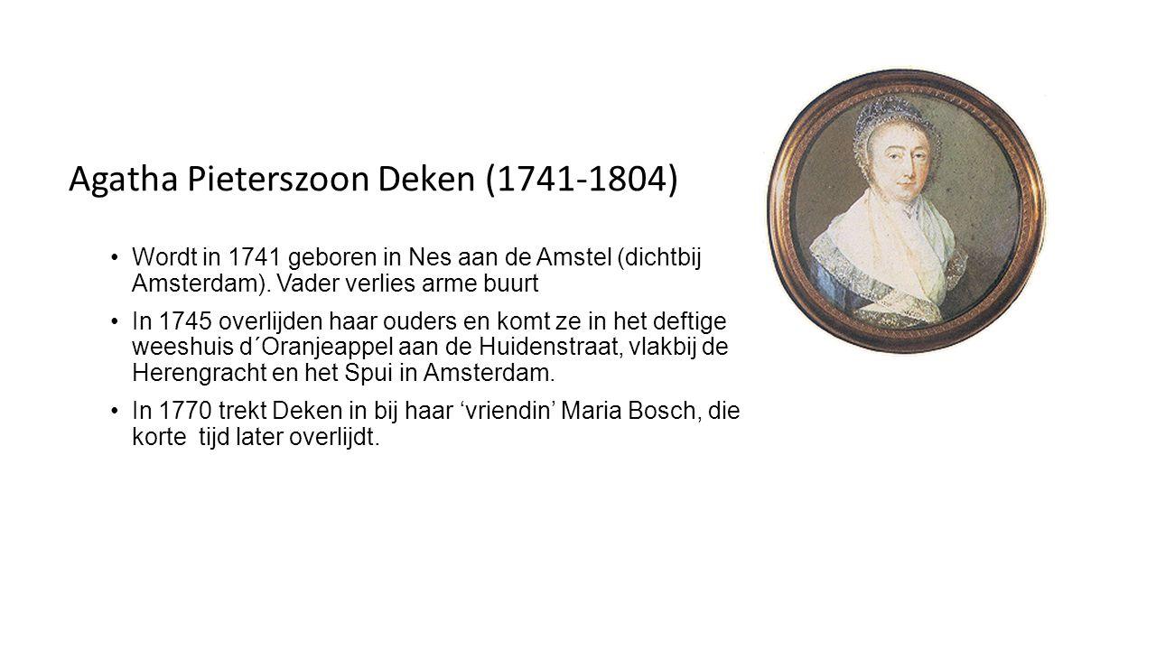 Agatha Pieterszoon Deken (1741-1804)