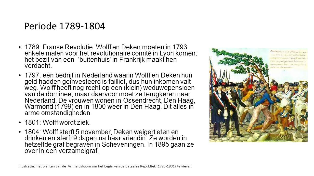 Periode 1789-1804