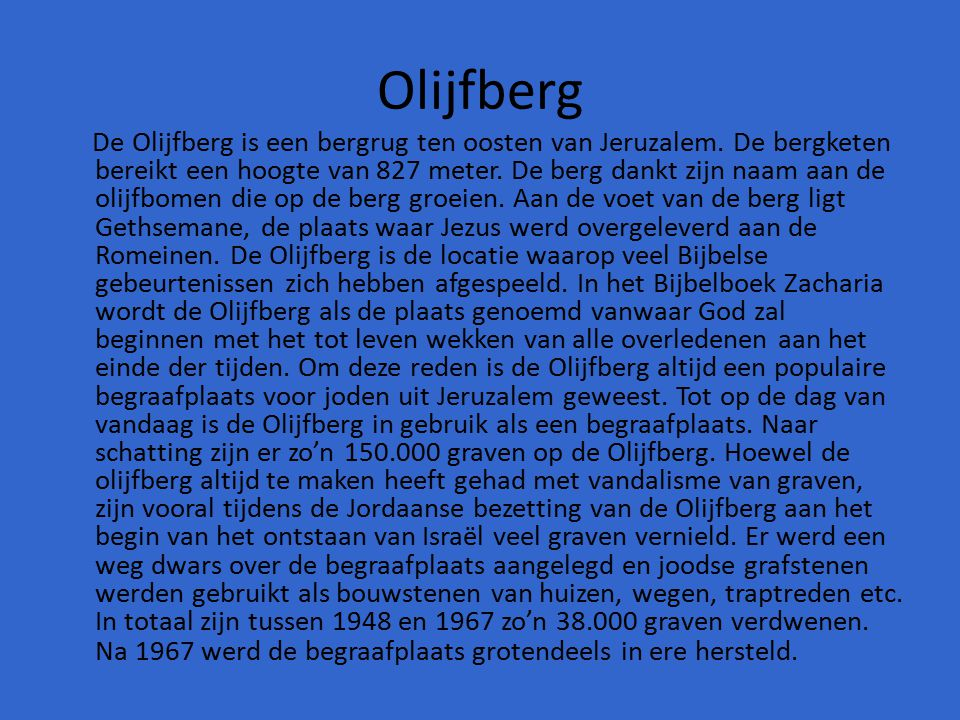 Olijfberg
