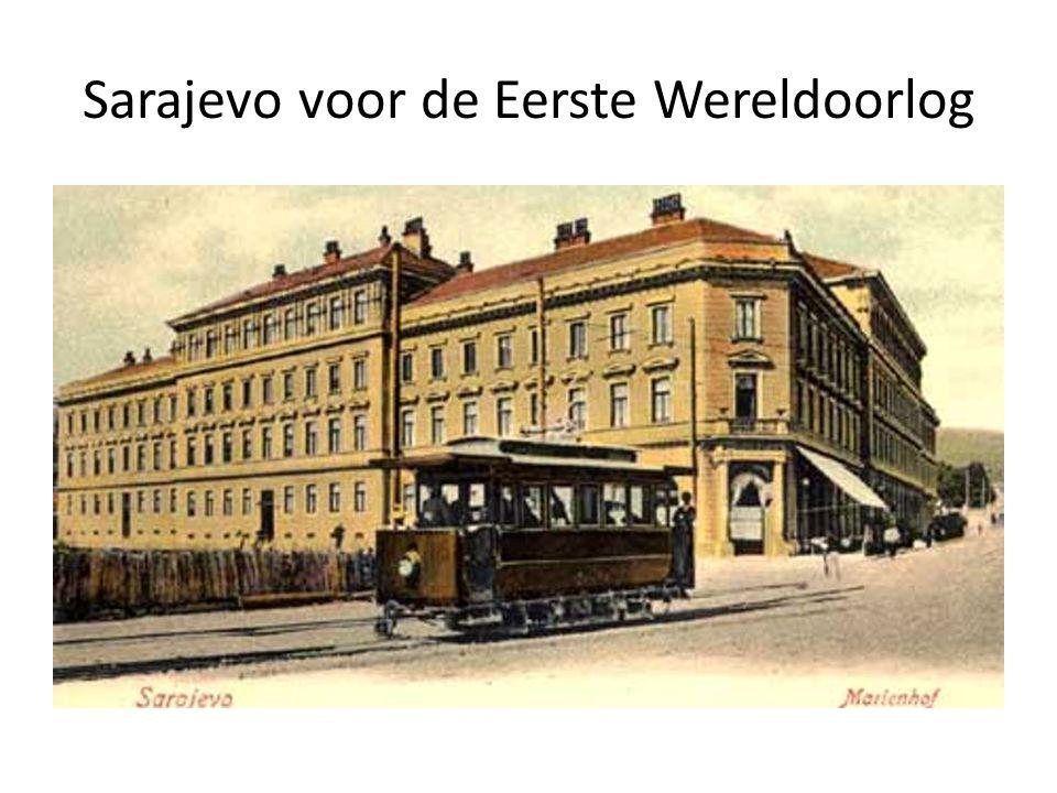 Sarajevo voor de Eerste Wereldoorlog
