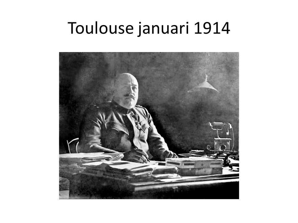 Toulouse januari 1914