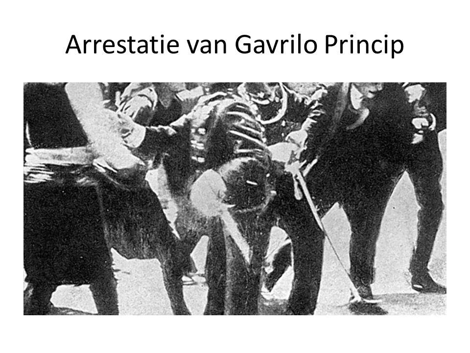 Arrestatie van Gavrilo Princip