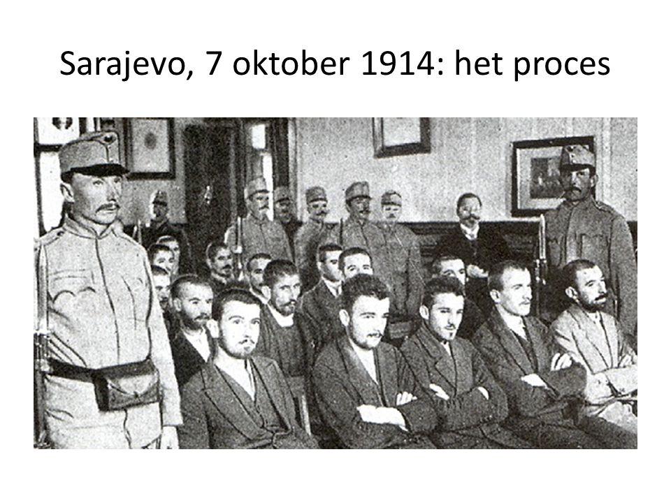 Sarajevo, 7 oktober 1914: het proces