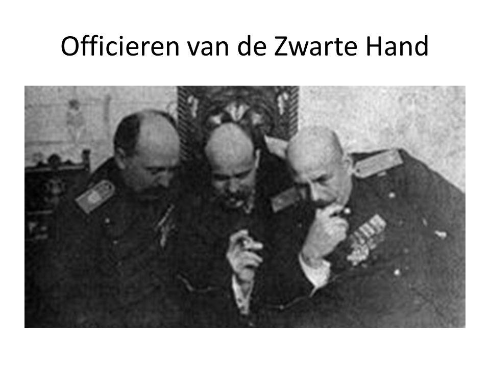 Officieren van de Zwarte Hand