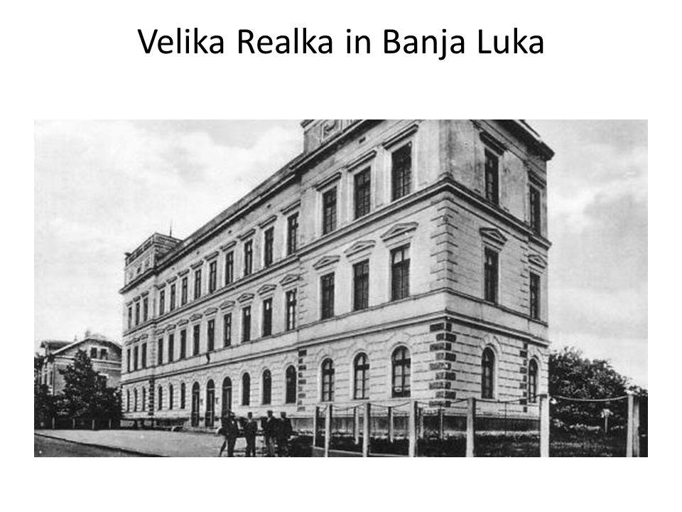 Velika Realka in Banja Luka