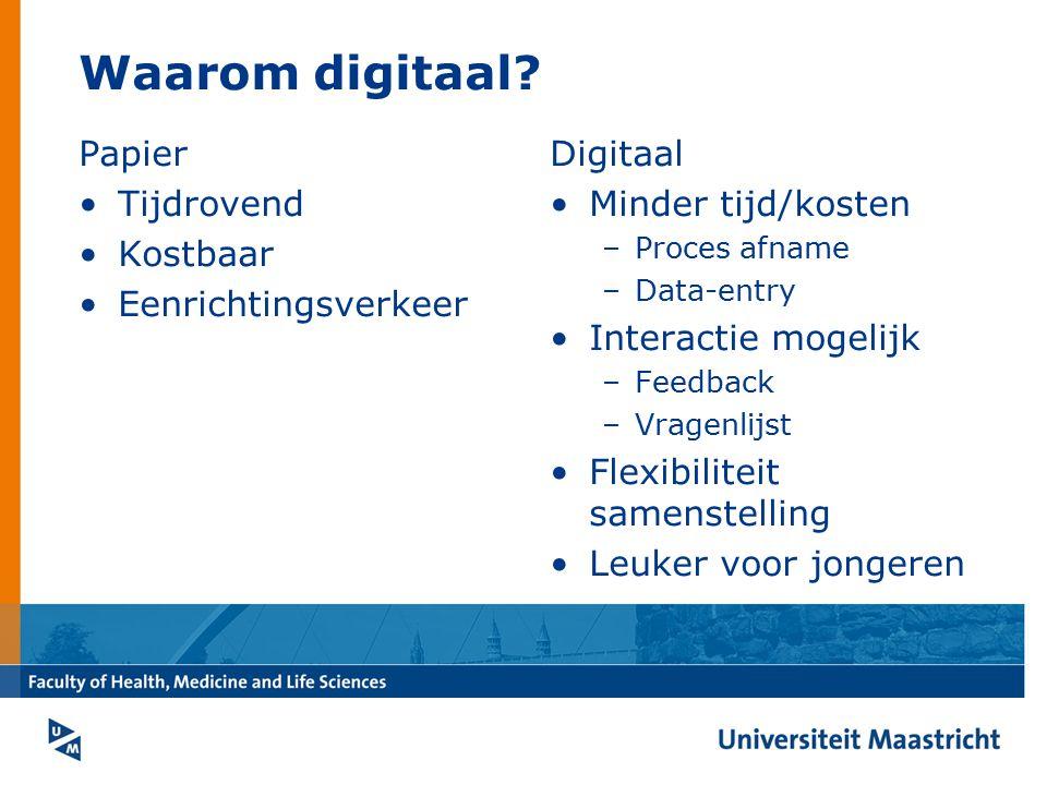 Waarom digitaal Papier Tijdrovend Kostbaar Eenrichtingsverkeer