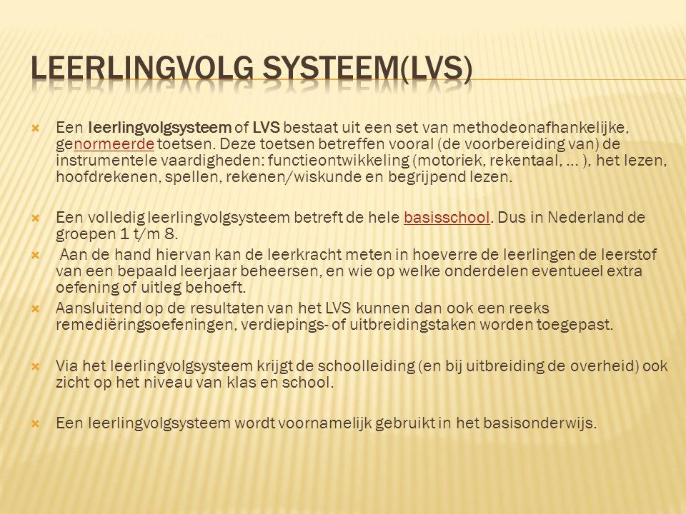 Leerlingvolg systeem(LVS)