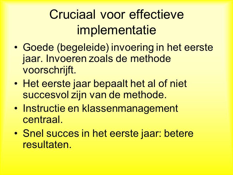 Cruciaal voor effectieve implementatie