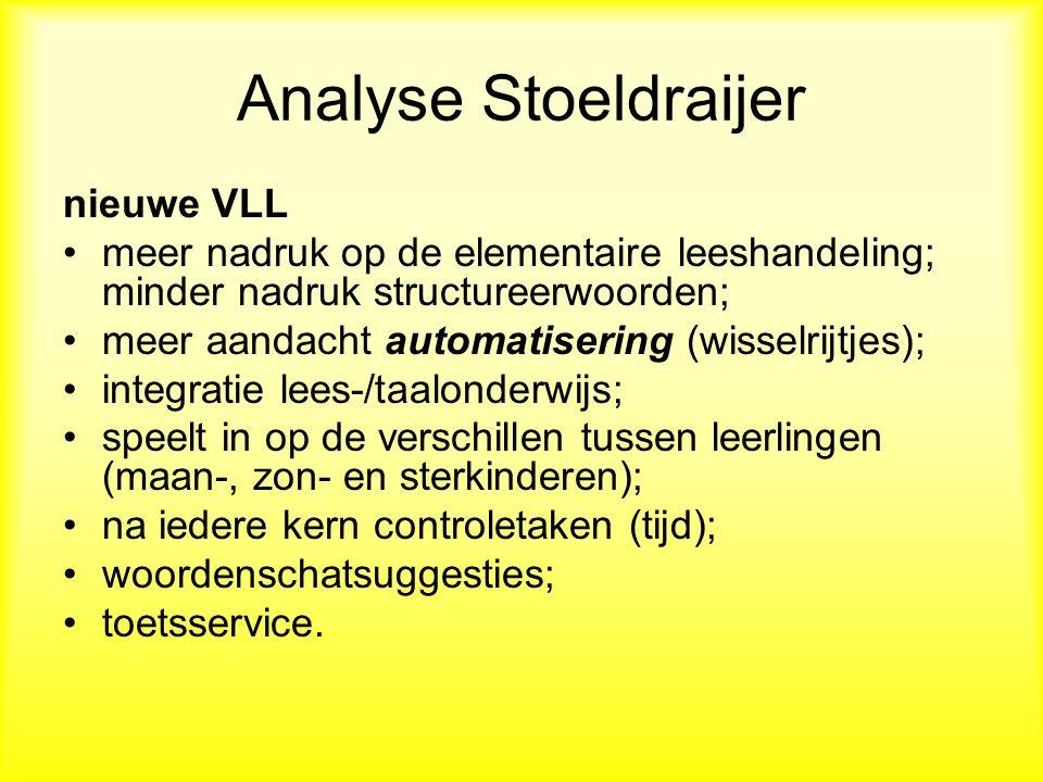 Analyse Stoeldraijer nieuwe VLL
