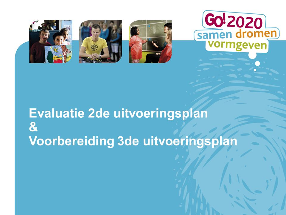 Evaluatie 2de uitvoeringsplan