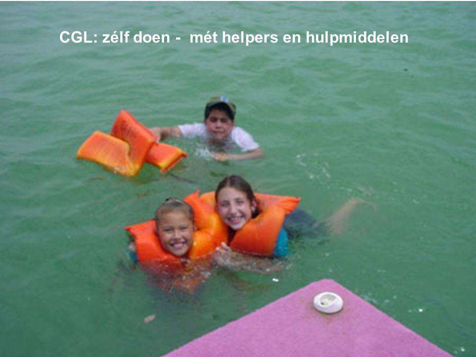 CGL: zélf doen - mét helpers en hulpmiddelen