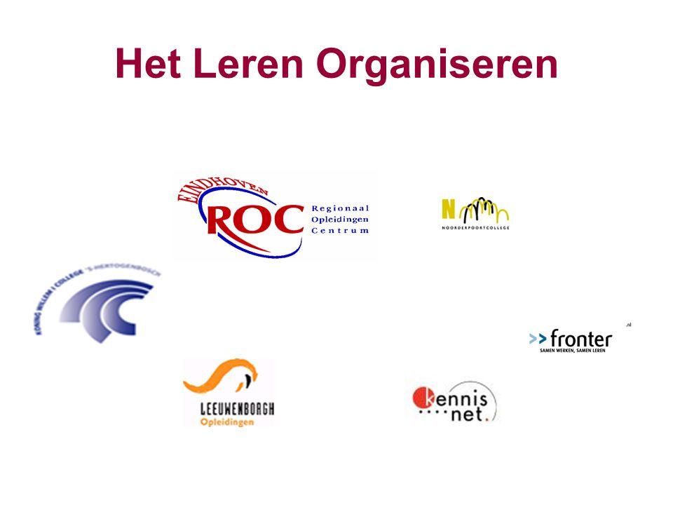 Het Leren Organiseren Niet toevallig dat Eindhoven en Den Bosch vooraan staan en iets groter zijn