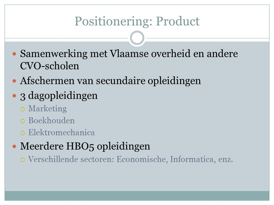 Positionering: Product