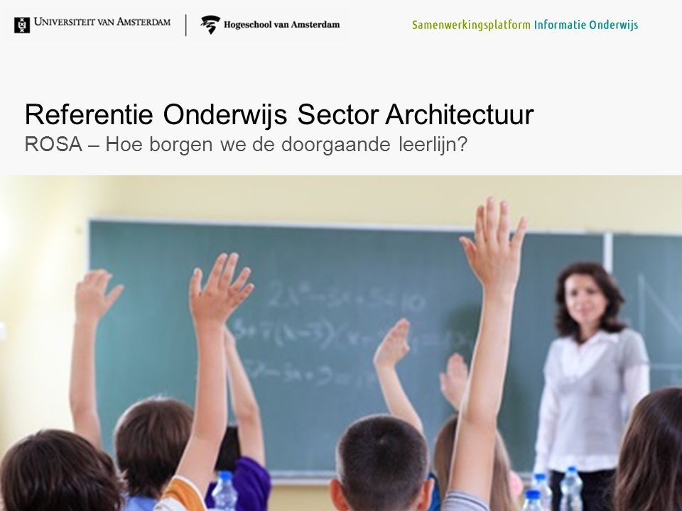 Referentie Onderwijs Sector Architectuur