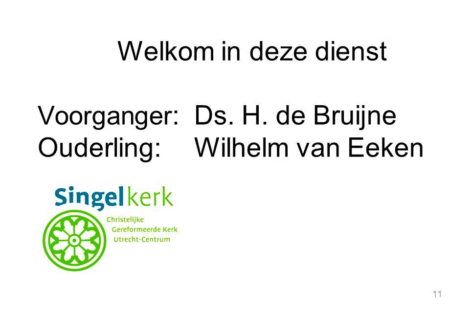 Ouderling: Wilhelm van Eeken