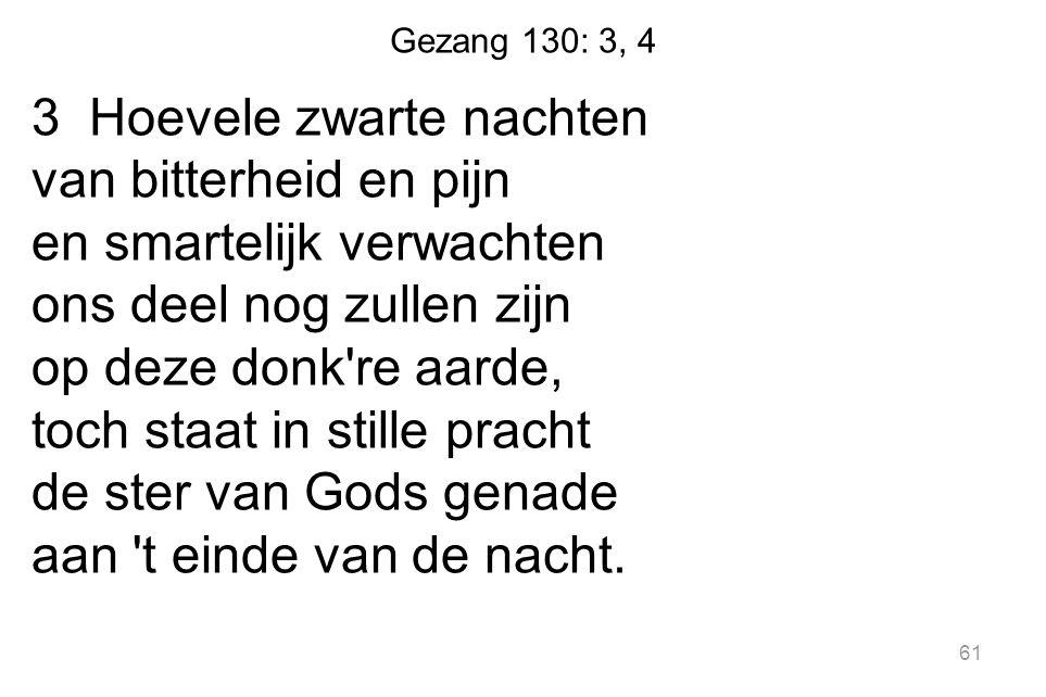 Gezang 130: 3, 4