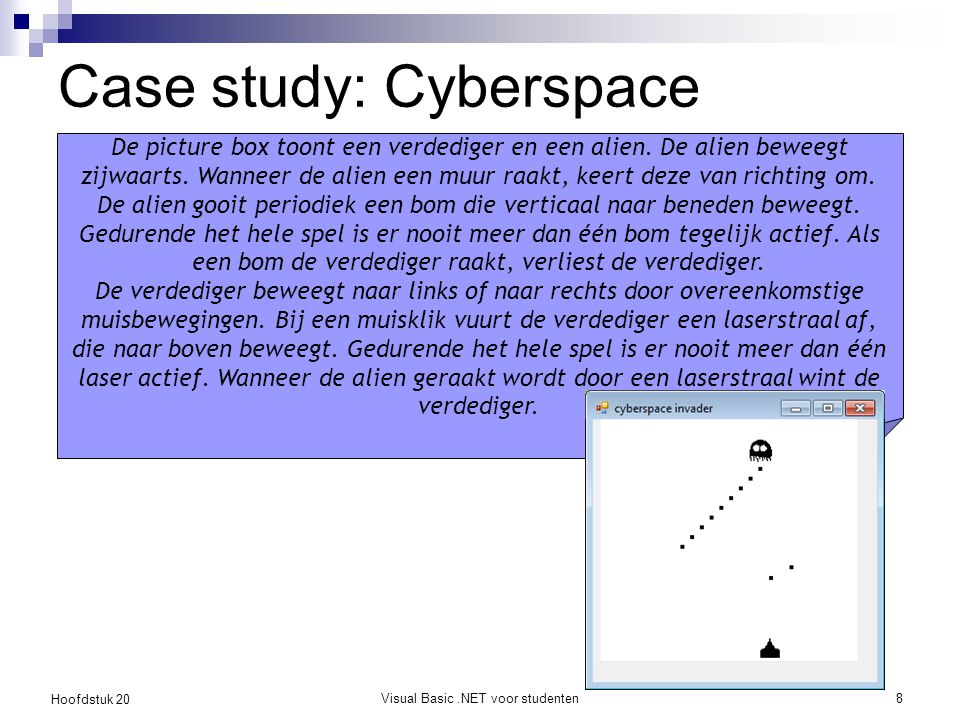 Case study: Cyberspace Invader