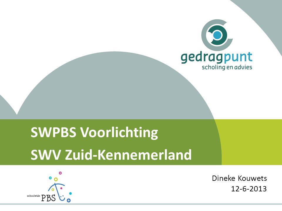 SWPBS Voorlichting SWV Zuid-Kennemerland