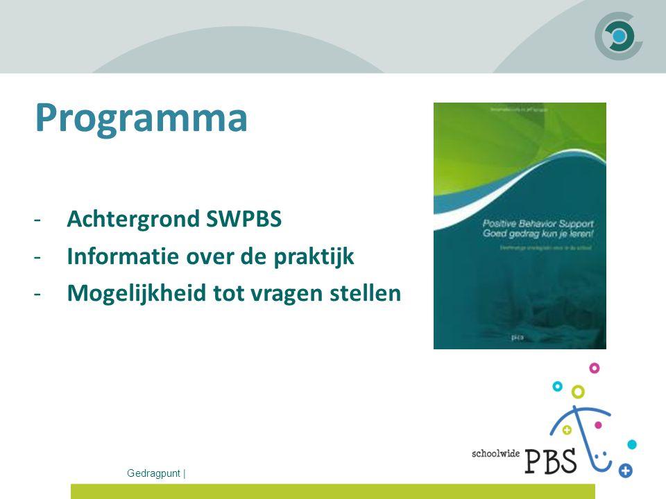 Programma Achtergrond SWPBS Informatie over de praktijk