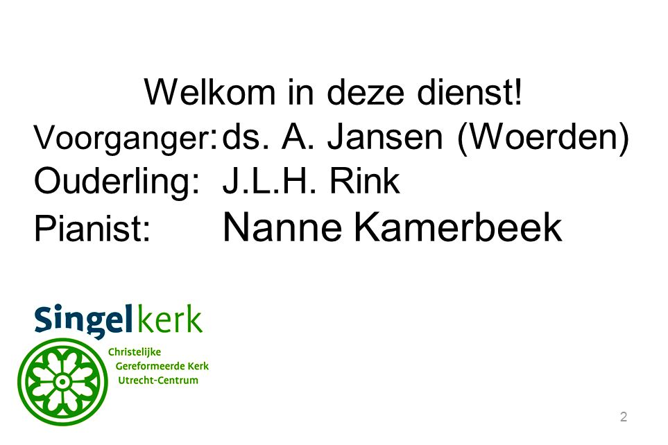 Pianist: Nanne Kamerbeek