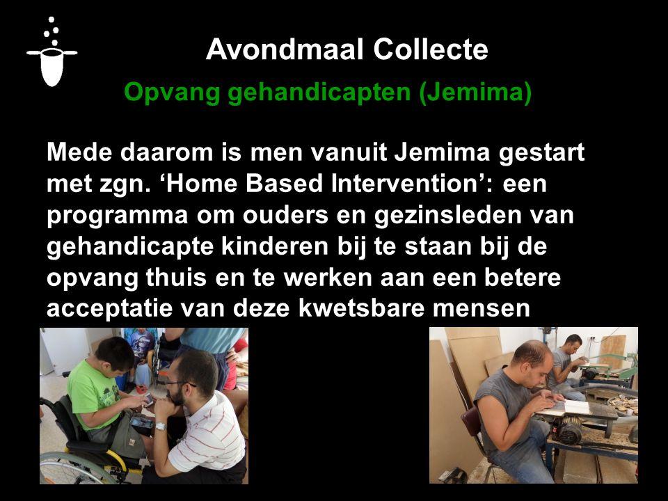Avondmaal Collecte Opvang gehandicapten (Jemima)