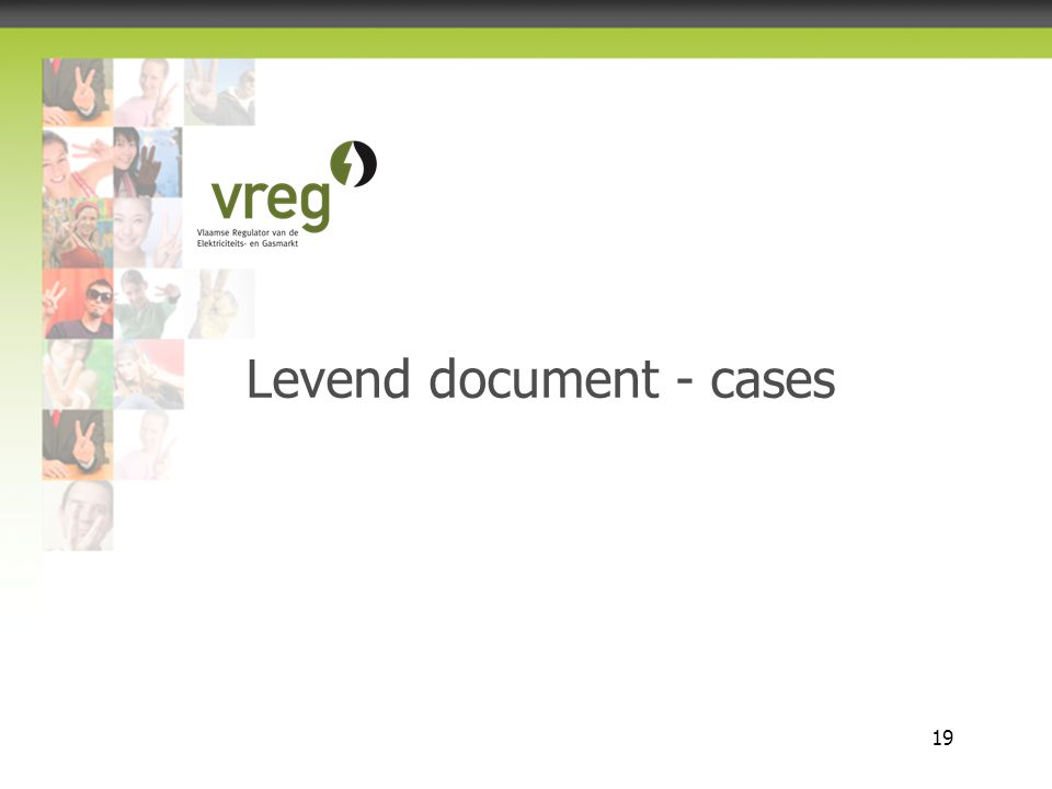 Levend document - cases
