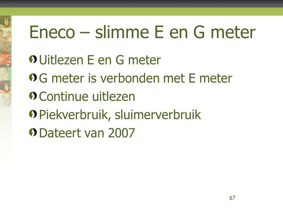 Eneco – slimme E en G meter