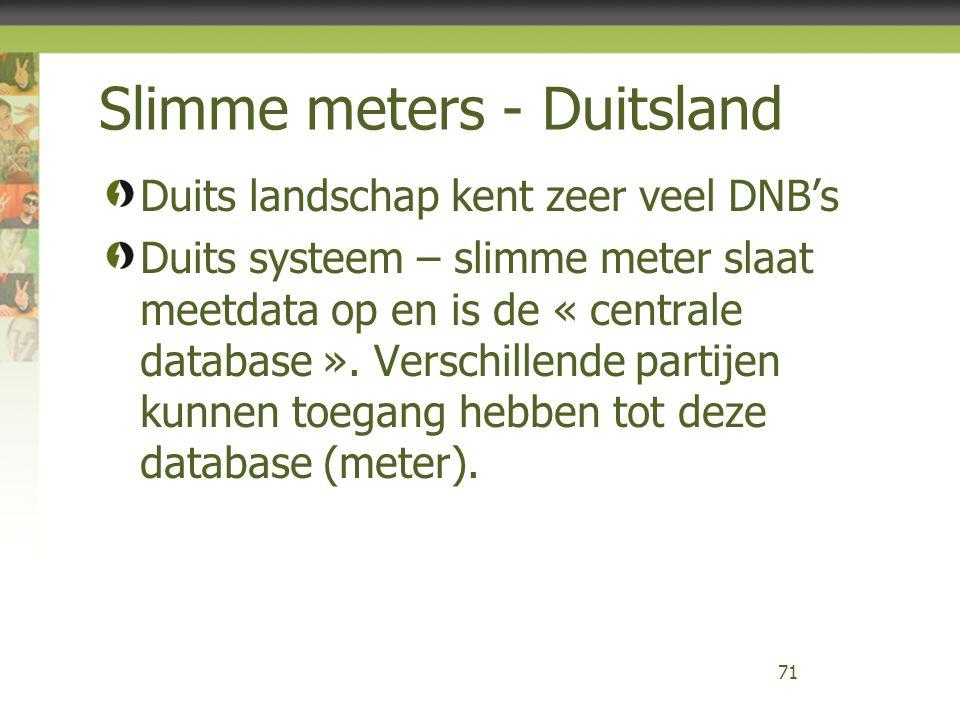 Slimme meters - Duitsland