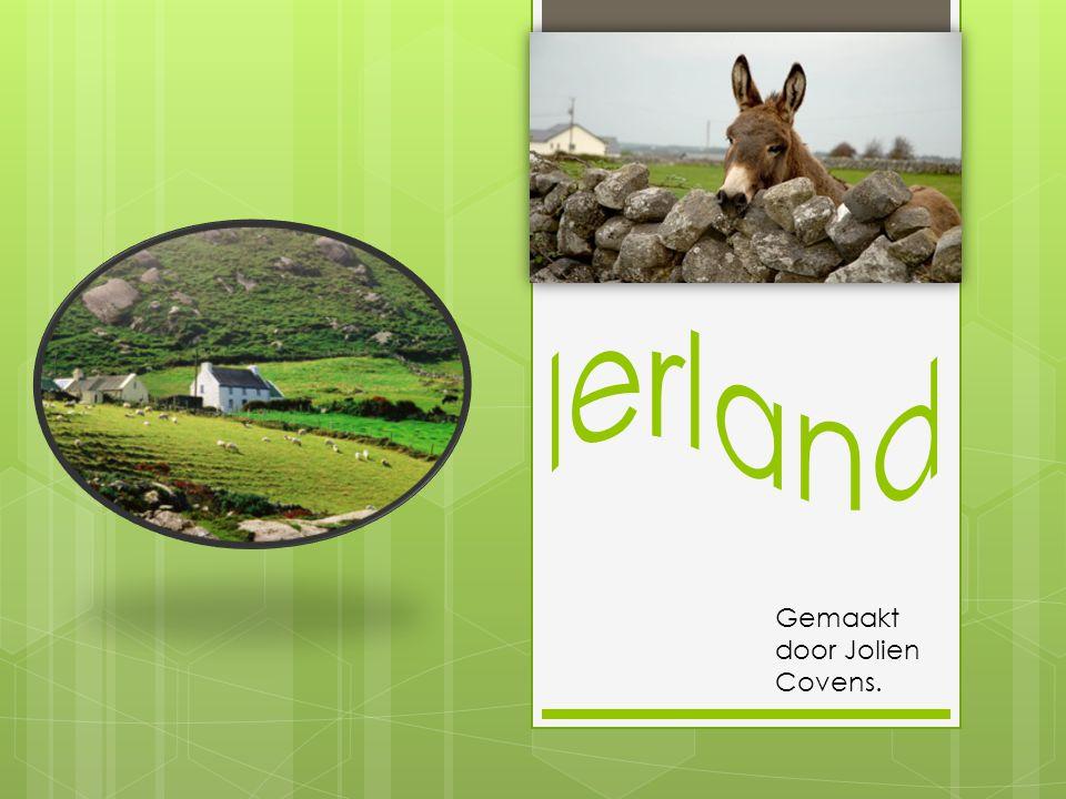 Ierland Gemaakt door Jolien Covens.