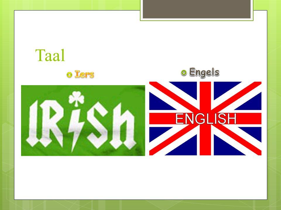 Taal Engels Iers In Ierland wordt Iers en Engels gesproken.