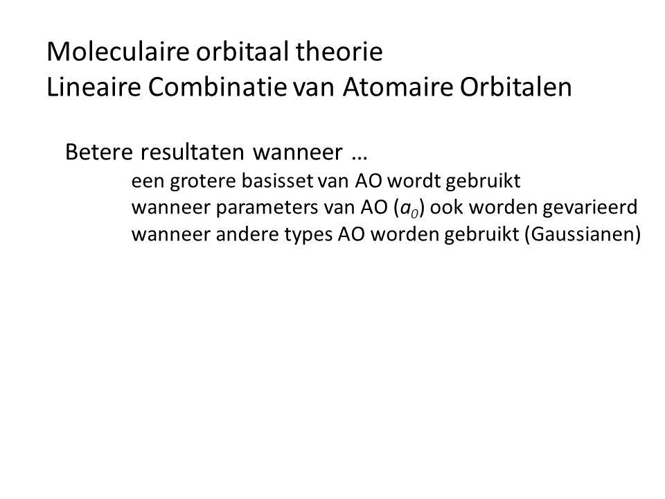 Moleculaire orbitaal theorie