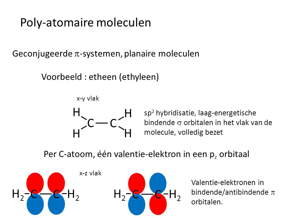 Poly-atomaire moleculen