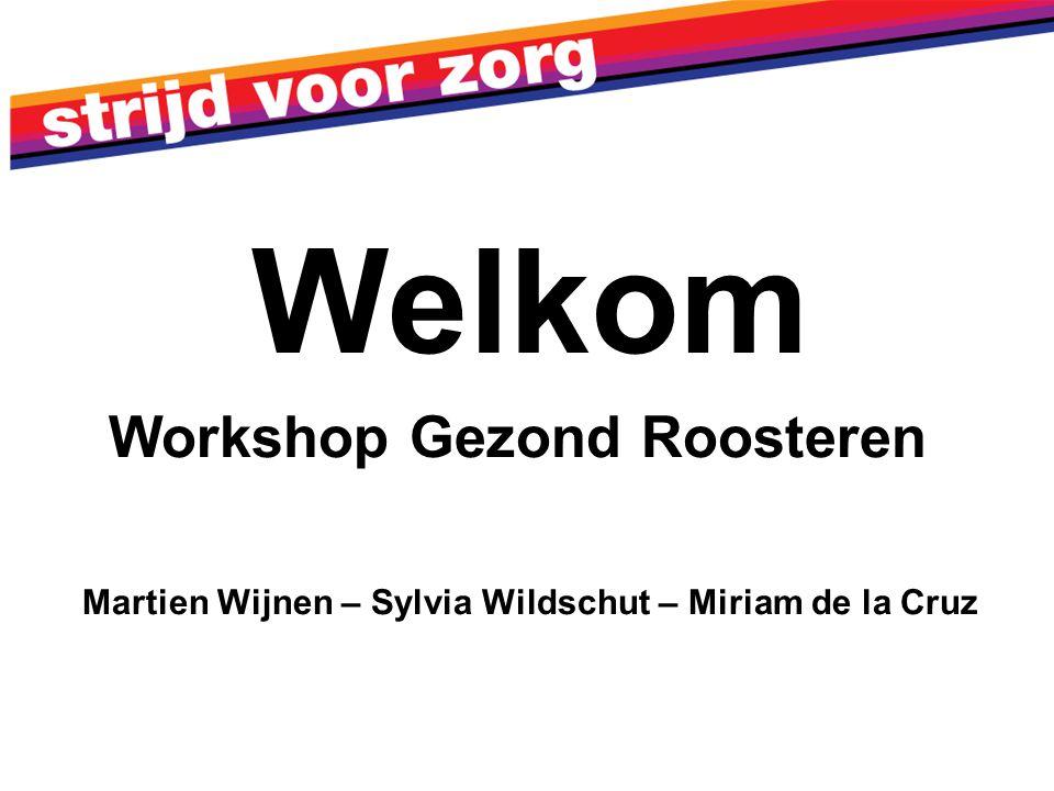 Welkom Workshop Gezond Roosteren