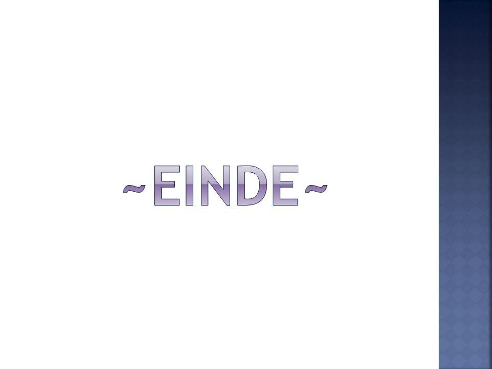 ~Einde~