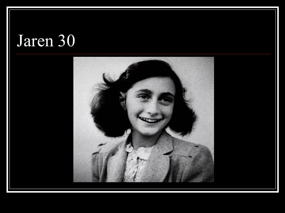 Jaren 30