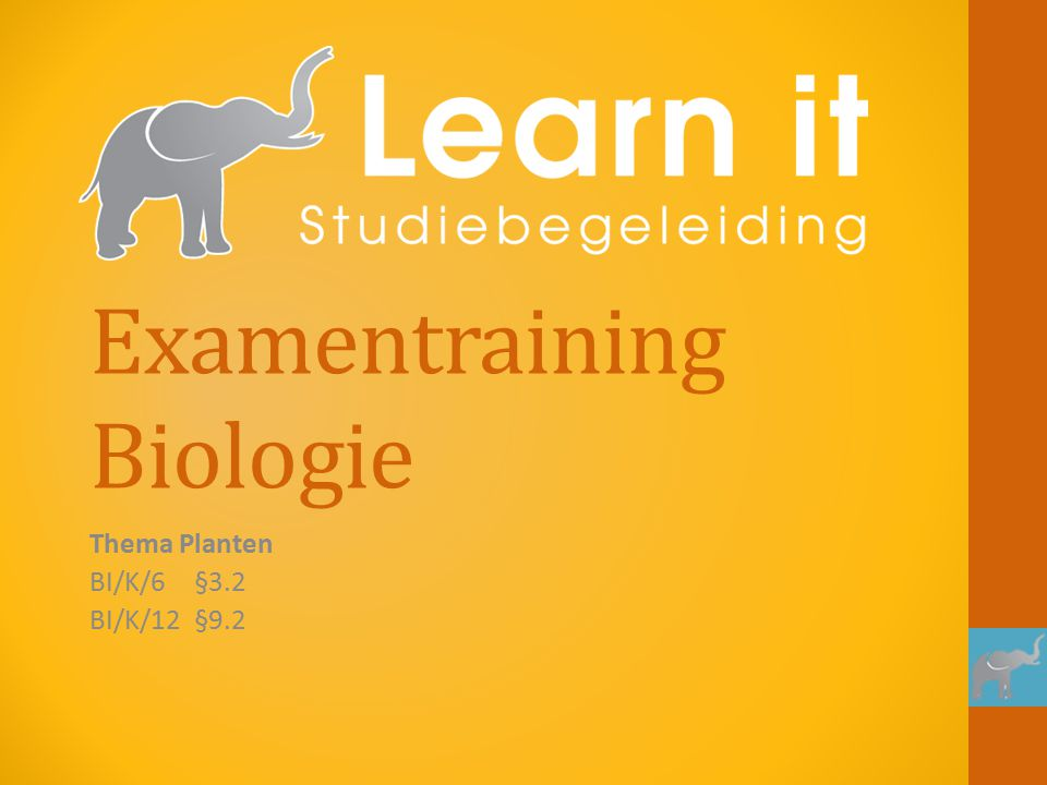 Examentraining Biologie