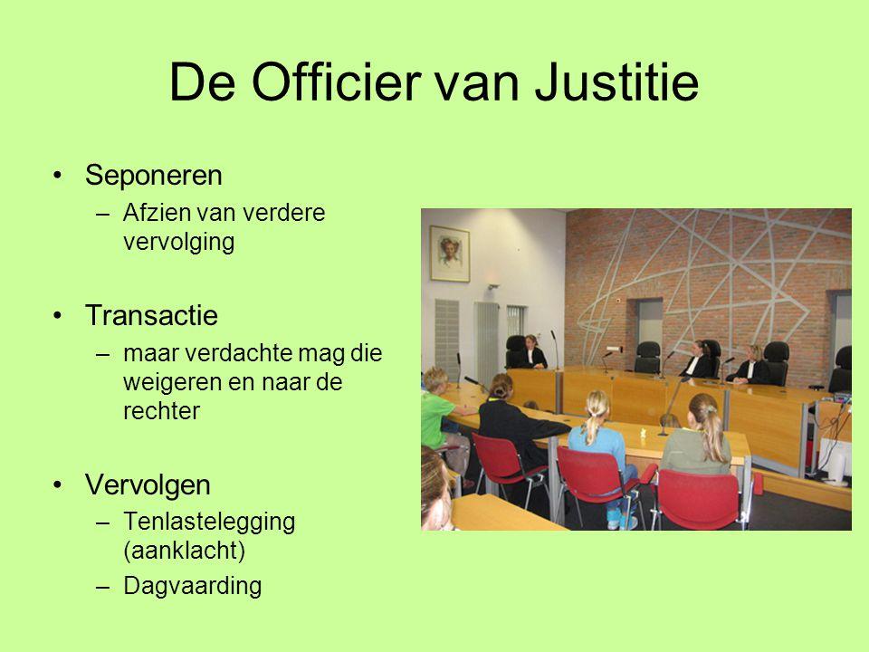 De Officier van Justitie
