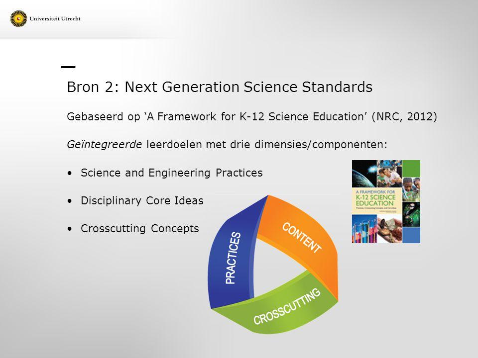 Bron 2: Next Generation Science Standards