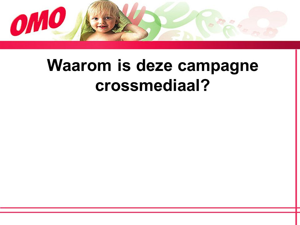 Waarom is deze campagne crossmediaal