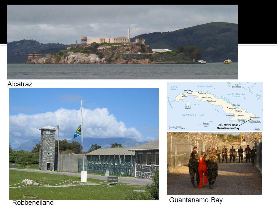 Alcatraz Guantanamo Bay Robbeneiland
