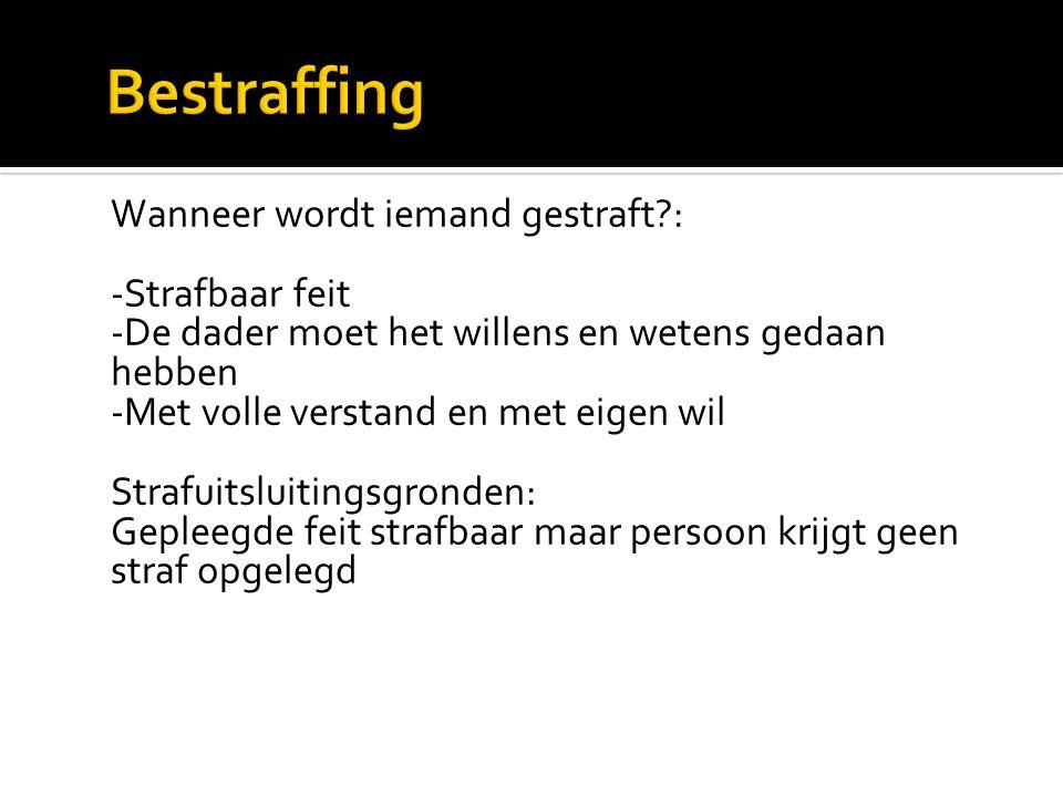 Bestraffing