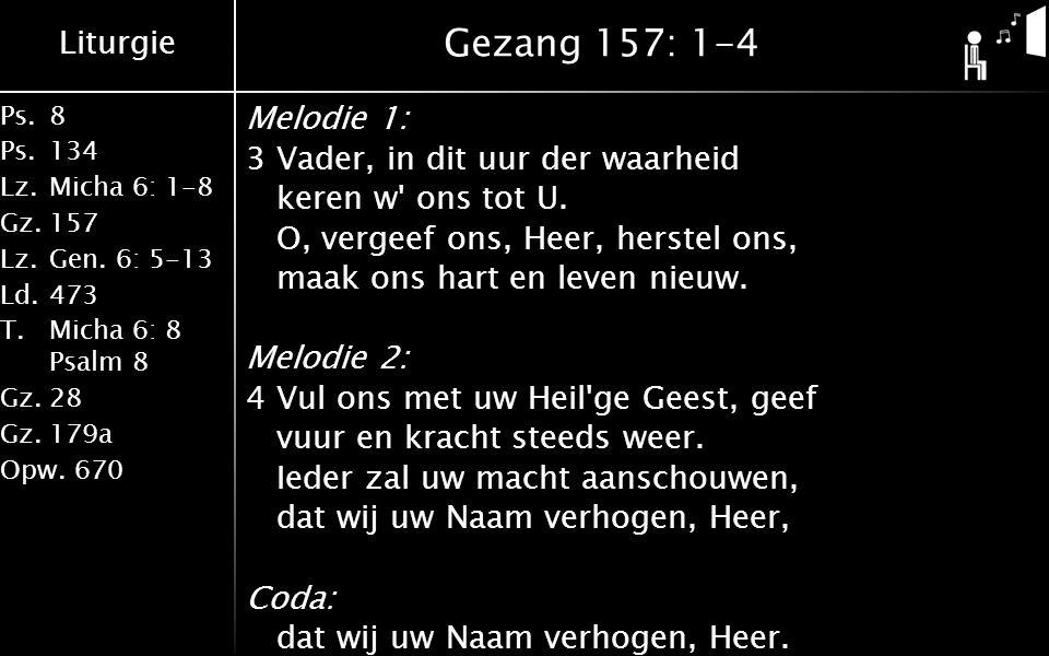 Gezang 157: 1-4