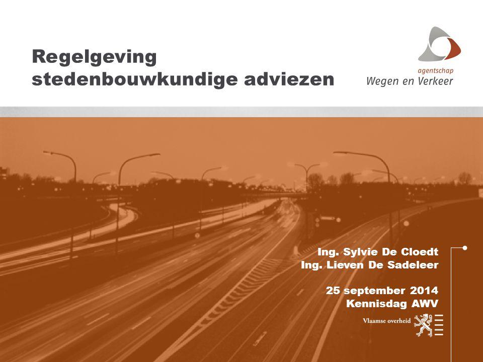 Regelgeving stedenbouwkundige adviezen
