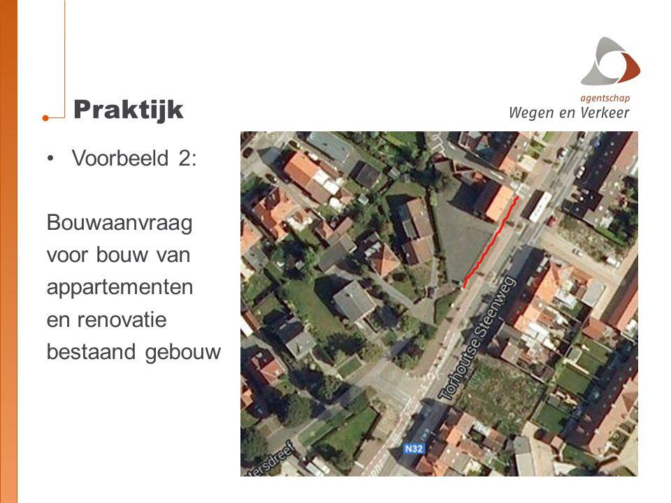 Praktijk Voorbeeld 2: Bouwaanvraag voor bouw van appartementen