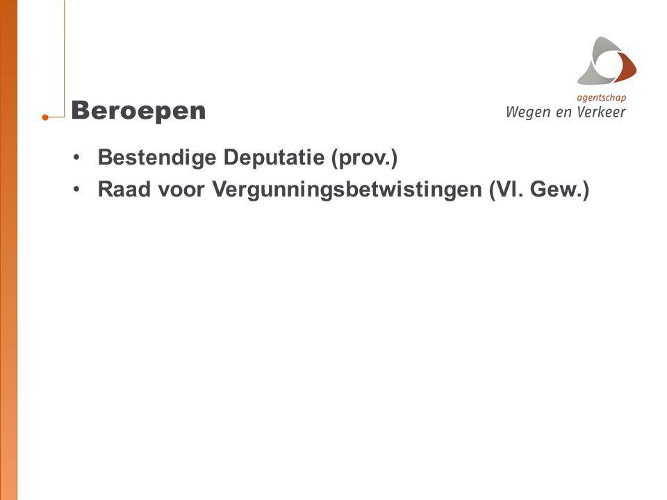 Beroepen Bestendige Deputatie (prov.)
